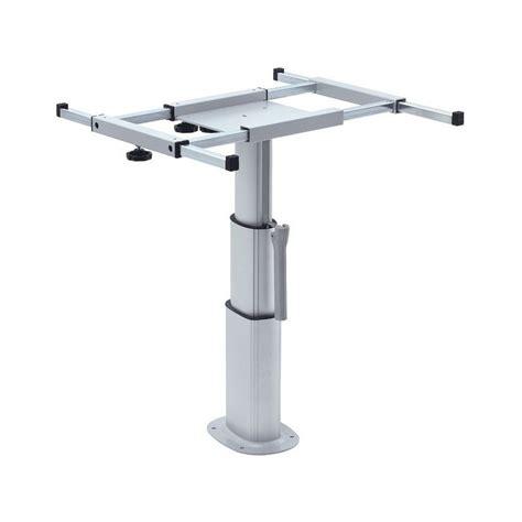 pied de table reglable 2717 table avec pied reglable en hauteur