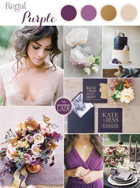 25 best ideas about purple gold weddings on