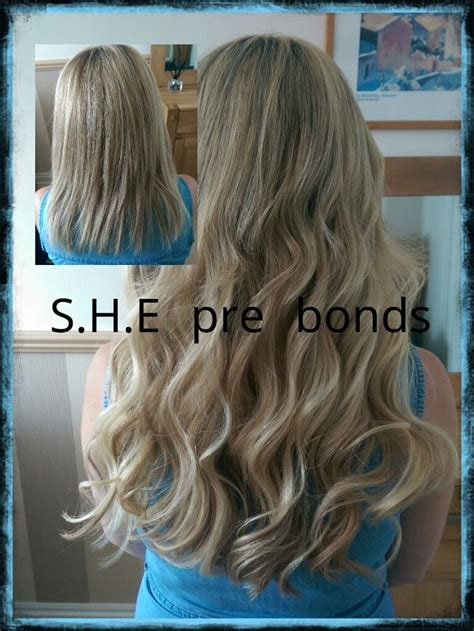 hairstyles with bonded extensions 16 best hair extensions images on pinterest hair