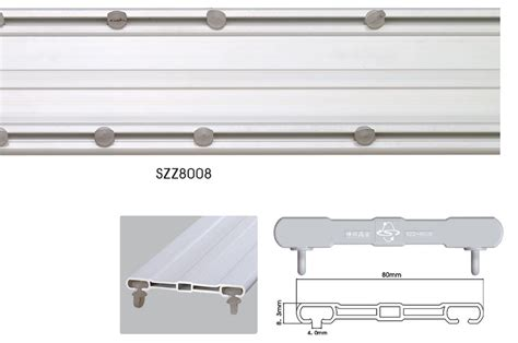 industrial curtain rail bay window vertical roller blind side curtain track