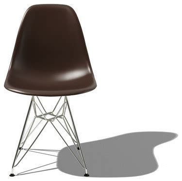 Molded Plastic Dining Chairs Eames Molded Plastic Side Chair W Eiffel Base Yliving Modern Dining Chairs Other Metro
