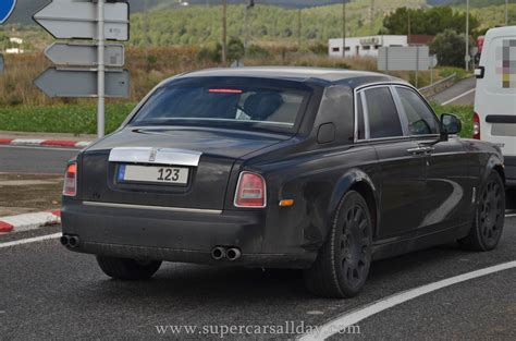 roll royce ghost all 2018 rolls royce phantom spy shots supercars all day