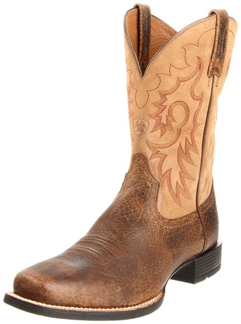 heritage boots ariat mens heritage reinsman boot in brown for earth
