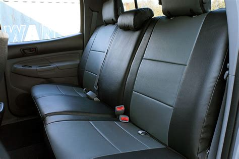 Toyota Tacoma Seat Covers Toyota Tacoma 2005 2015 Iggee S Leather Custom Fit Seat