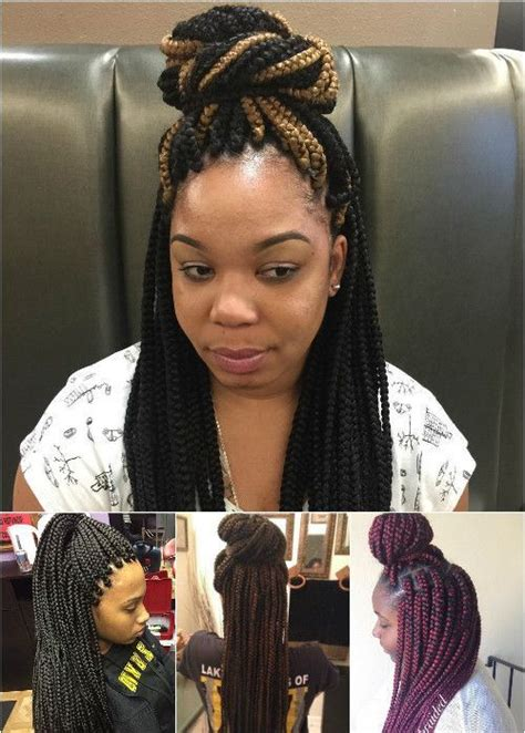 Box Braids Hairstyles Accessories by 50 Exquisite Box Braids Hairstyles To Do Yourself