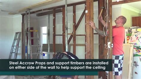 what does it take to be an interior designer how to remove a timber load bearing wall