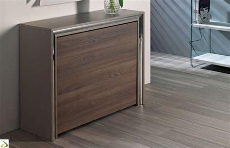 tavolo pieghevole design consolle tavolo chiudibile archimede arredo design