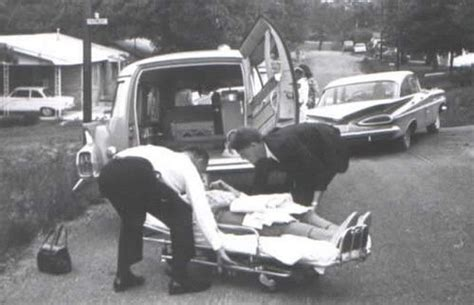 vintage funeral home cadillac hearse ambulance combination