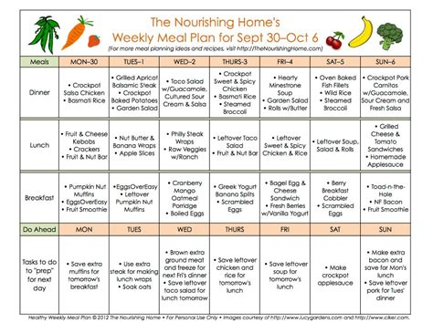 meal plans archives page 3 of 16 the nourishing home