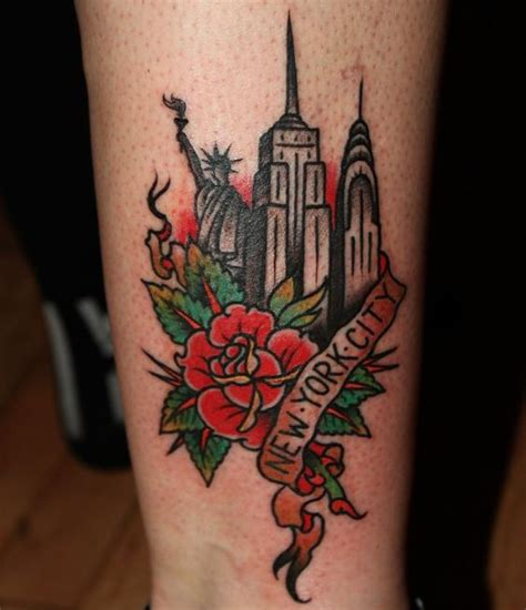 new york tattoos best 25 new york ideas on nyc