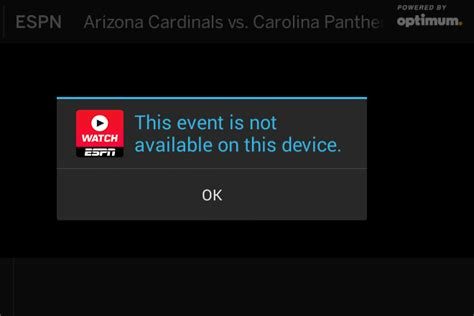 fans choice tv app watchespn app shows the struggles of mobile nfl