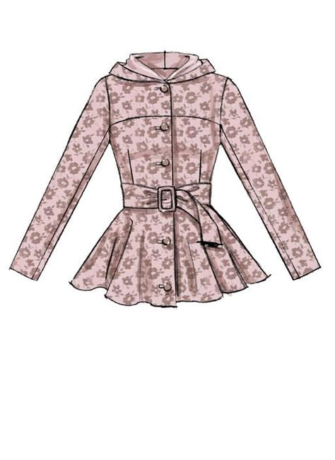 cute jacket pattern cute peplum coat and jacket sewing pattern from mccall s