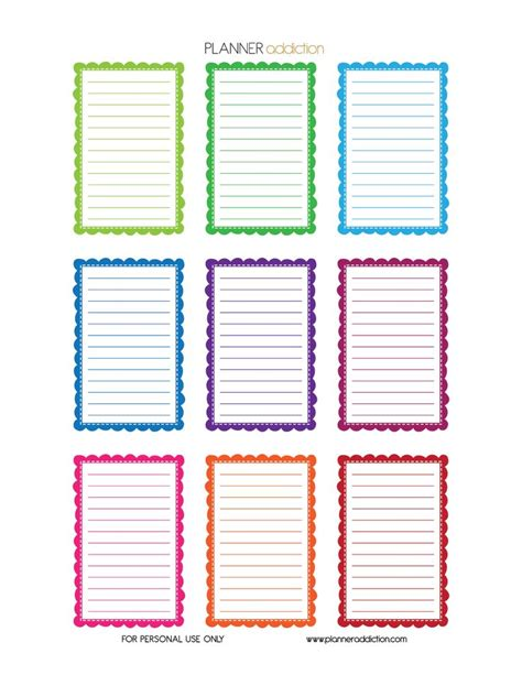 happy planner printable free 18 best free large happy planner printable planner