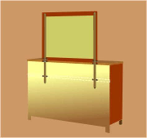 Mirror Brackets For Dresser by Mounting Mirror On Dresser Reversadermcream