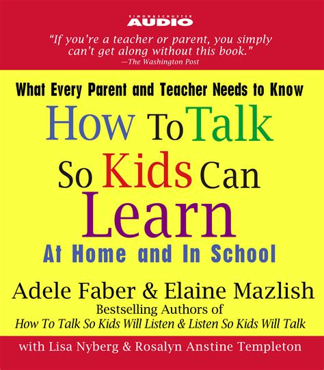 adele faber biography how to talk so kids can learn audiobook on cd by adele