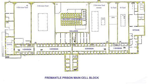 prison floor plan places seen 4 days as an australian convict
