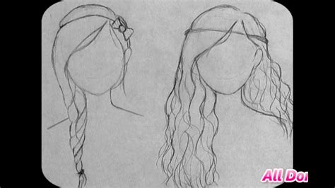 Straight Up Free Hand Hairstyles