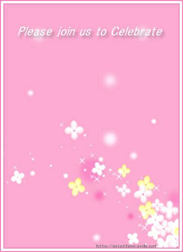 blank christening invitation templates free floral baby christening invitations baby