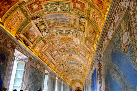 Vatican Museum Ceiling Paintings by The Vatican State A Country In The Of Rome Italy