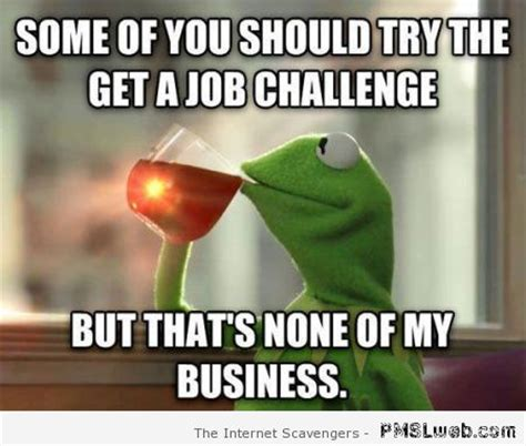 Get A Job Meme - 8 the get a job challenge meme pmslweb
