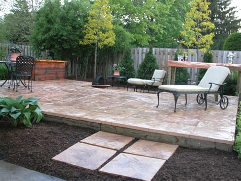 Patio Building Diy Ideas Diy Building Paver Patio