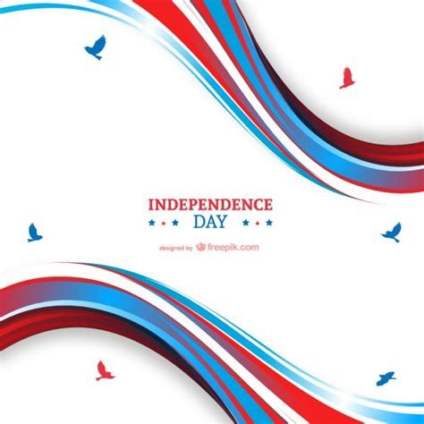 wann ist independence day independence day hintergrund der kostenlosen vektor