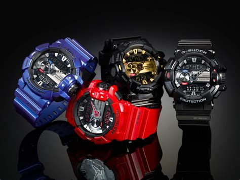 G Shock Ferrian Series casio g shock gba 400 with bluetooth smart link your