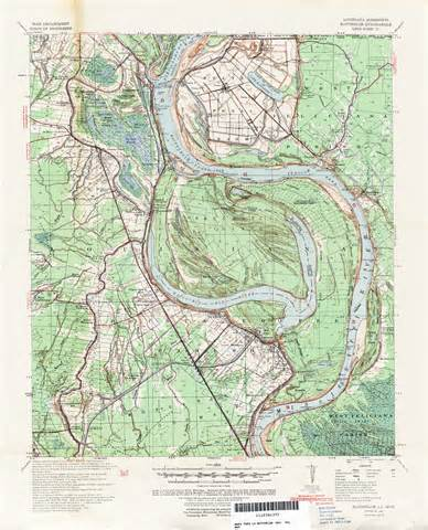 topographic map of louisiana topographic maps perry casta 241 eda map