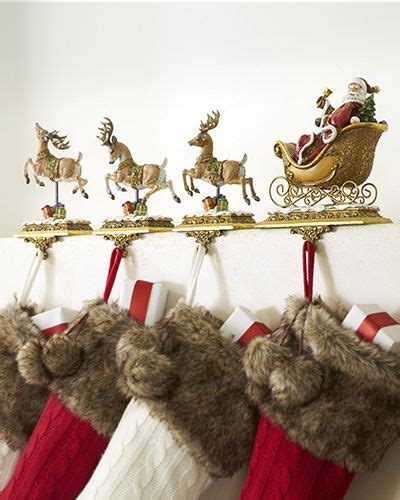 santa and reindeer holders display your with the