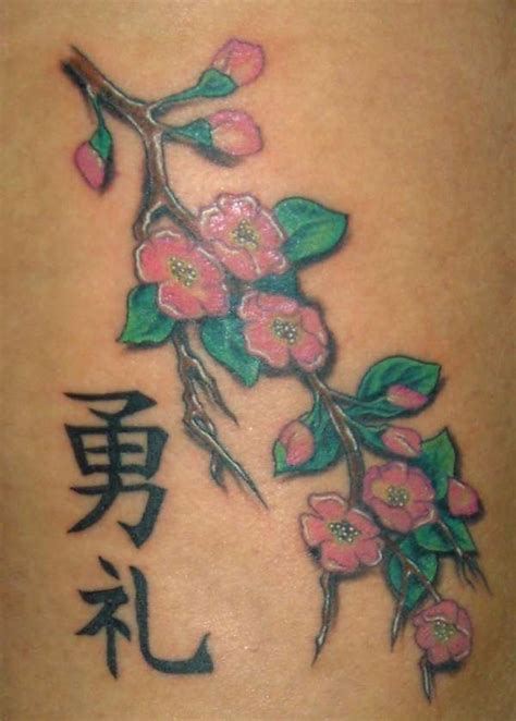 cherry blossom tribal tattoo mabek tatto cherry blossom branch