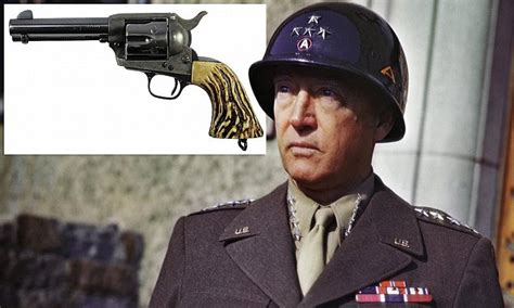 revolver owned  legendary ww general george  patton