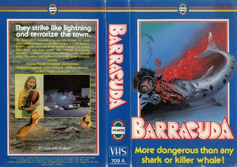 Barracuda 2017 Film Terror On Tape Horror Vhs Boxes From Yesteryear Flashbak
