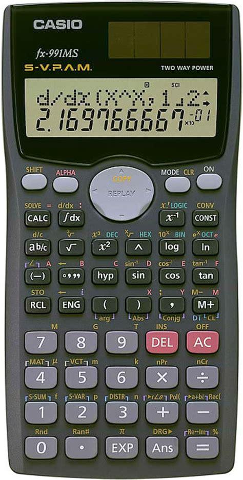 Kalkulator Casio Fx4500 casio fx 991 ms s v p a m scientific calculator clickbd
