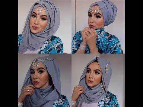 tutorial hijab saritiw eid makeup look hijab style parizaad funnydog tv