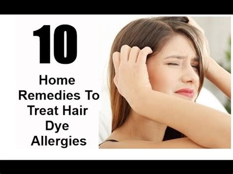 home remedies for henna tattoo allergy hair dye allergies treatment home remedies
