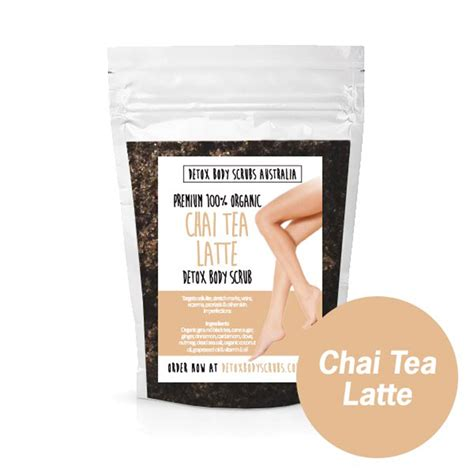 Coffee Detox Scrub by Chai Tea Latte Detox Scrub