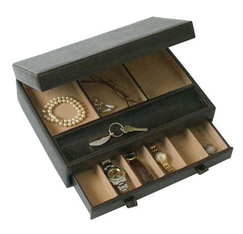 Leather Dresser Valet by Faux Leather Dresser Valet In Bedside Storage