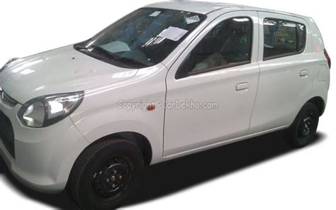 Suzuki 800cc Car Motors Garage India Maruti Alto 800 Spied