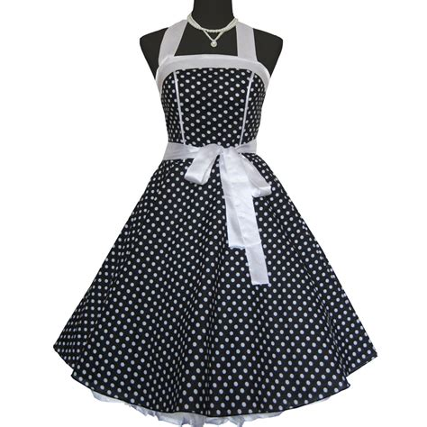 swing 60s vintage retro 50s 60s swing dress pinup polka dots