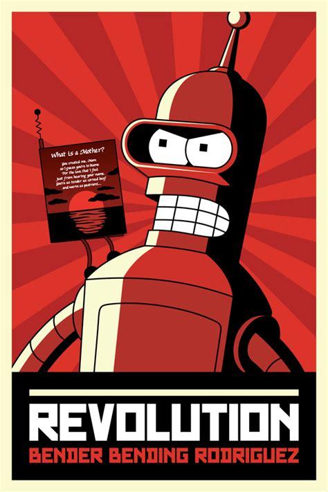 Geek Art Gallery: Posters: Futurama Propaganda