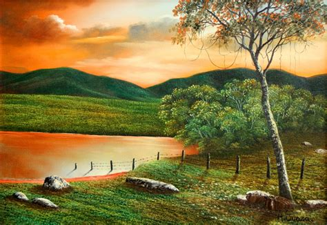 imagenes de paisajes en oleo pintura moderna y fotograf 237 a art 237 stica paisajes de
