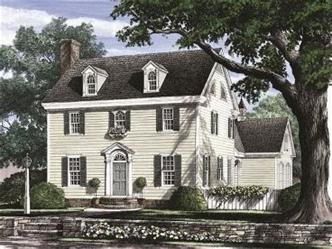 Saltbox Colonial colonial house plans the house plan shop