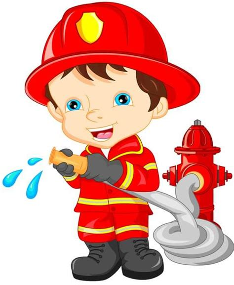 for toddlers the fireman and occupation flashcards for