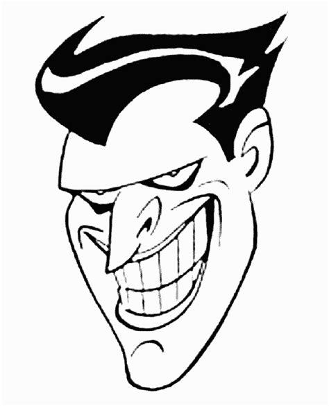 joker coloring sheets coloring pages