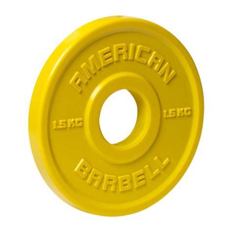 Barbell 5 Kilo american barbell kilo urethane fractional plates