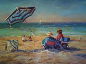 Back gt gallery for gt easy beach scene paintings
