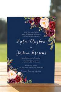 the 25 best floral wedding invitations ideas on