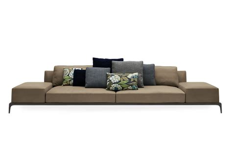 couch park modular sofa in leather textile upholstery park