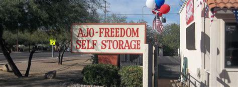 ajo freedom self storage tucson az find tucson arizona self storage near you ajo freedom