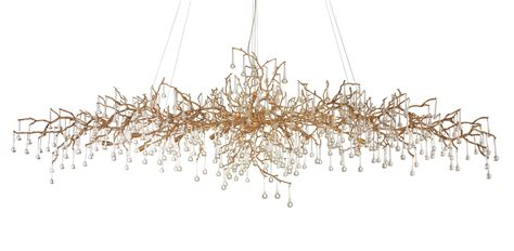 Bijout Oval Chandelier by Serip Lighting   Contemporary